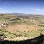 Beautiful view from Arbel Mountain